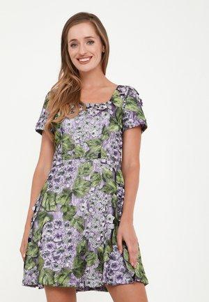 AGAVA - Cocktail dress / Party dress - lila, grün