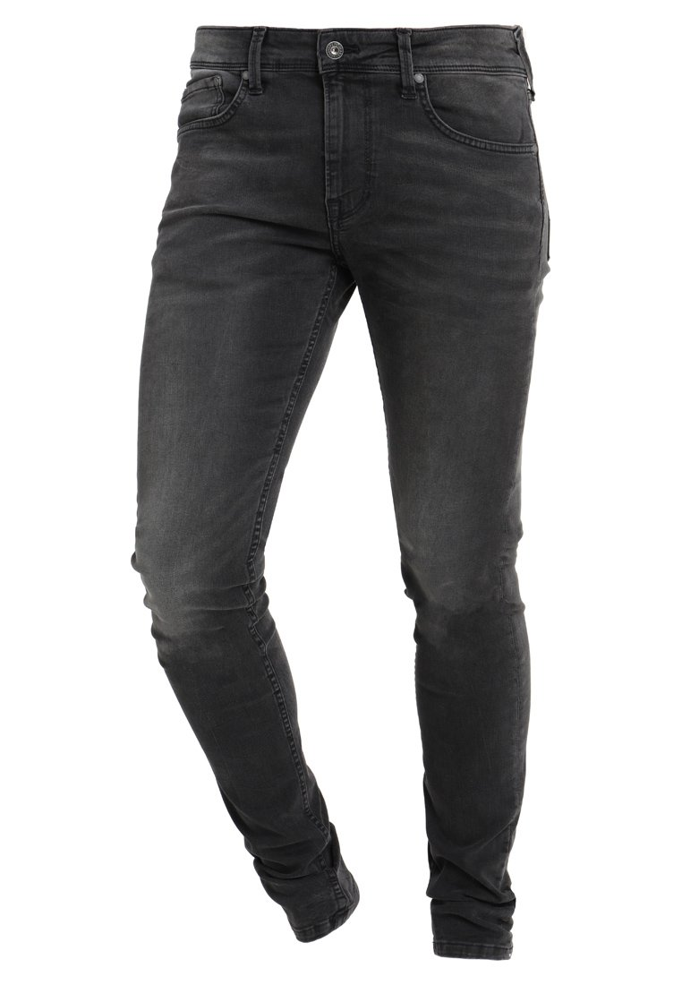 Pepe Jeans FINSBURY - Jeans Skinny - black denim