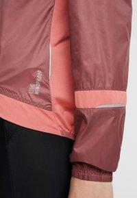 ODLO - JACKET FUJIN LIGHT - Vodotěsná bunda - roan rouge/faded rose - 7