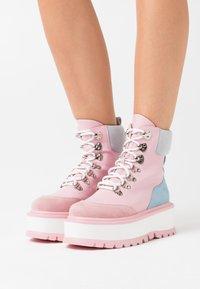 Koi Footwear - VEGAN HYDRA - Platform ankle boots - pink - 0