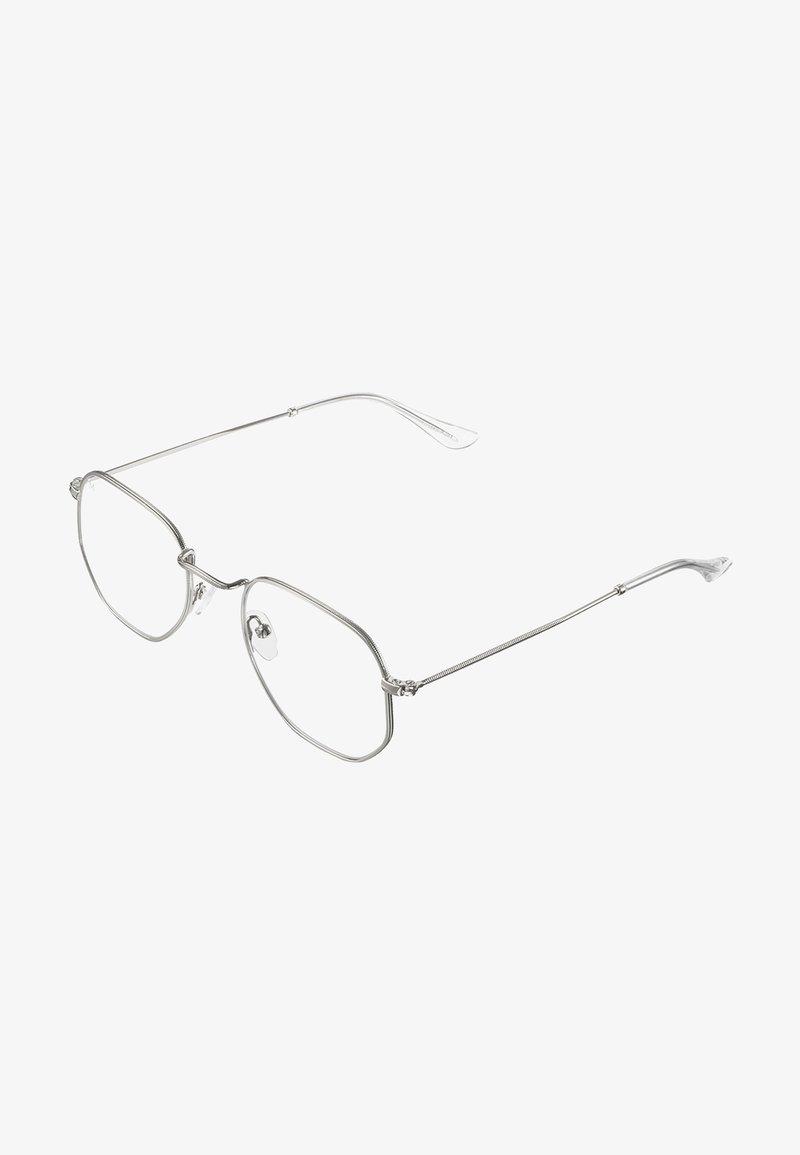 Meller - EYASI BLUE LIGHT - Sunglasses - silver