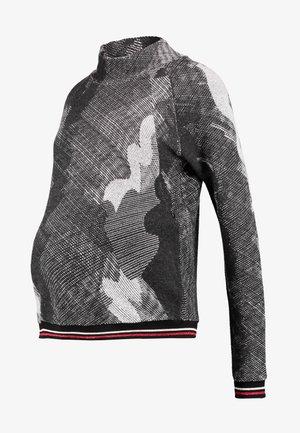 NURSING - Stickad tröja - grey
