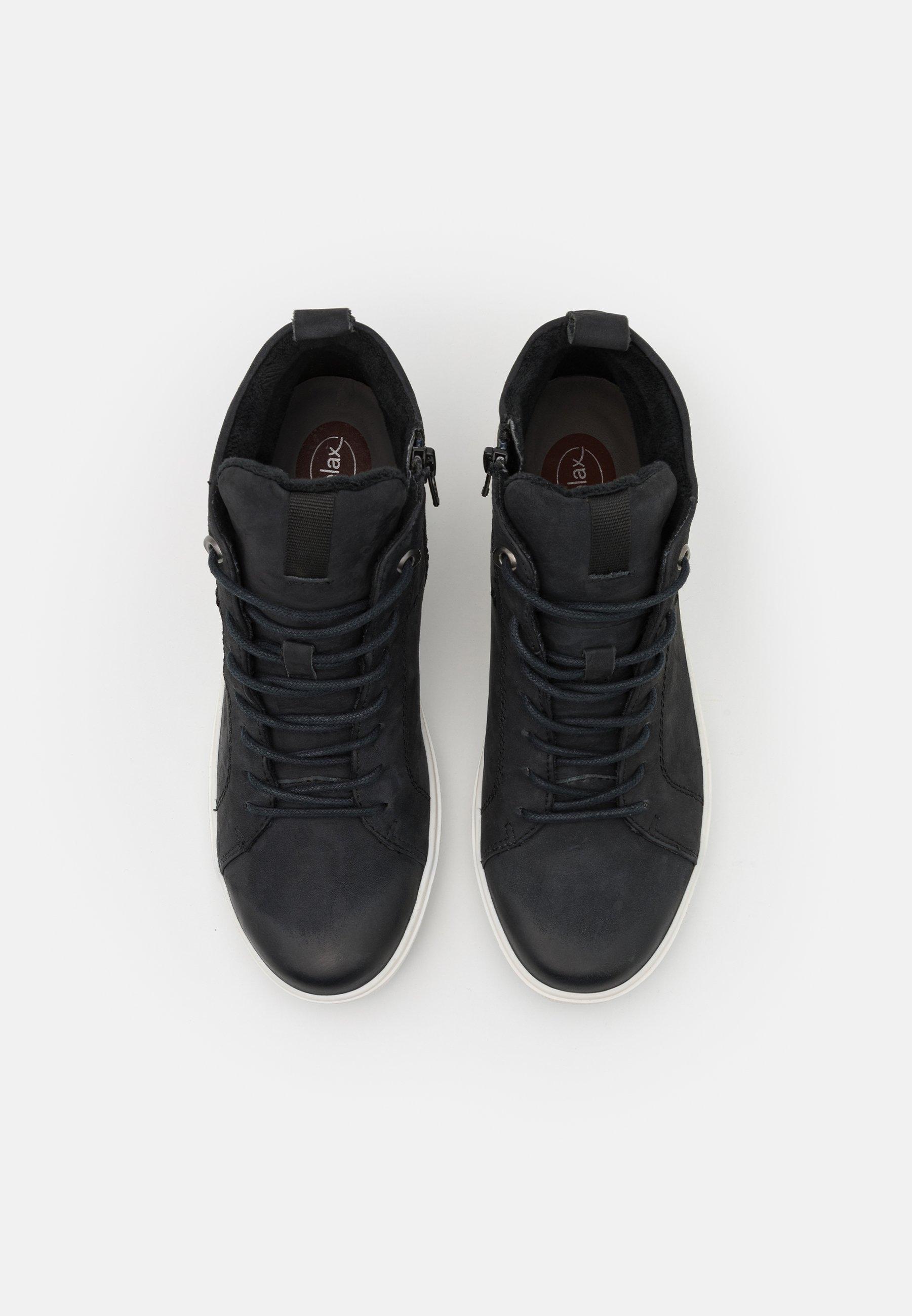 Jana Sneaker high navy/blau