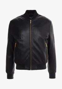 Versace Jeans Couture - GIUBBETTI UOMO - Kožená bunda - nero - 4
