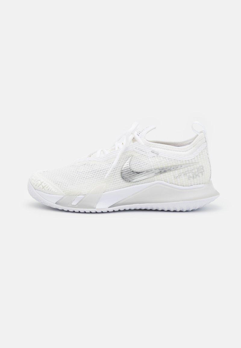 Nike Performance - REACT VAPOR NXT - Multicourt tennis shoes - white/metallic silver/grey fog