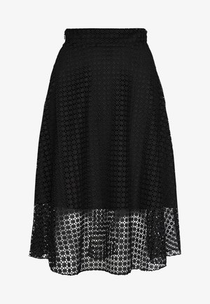 OUT SKIRT - A-line skirt - black