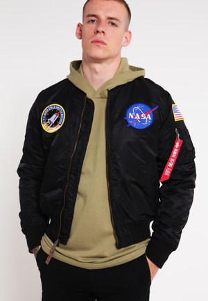 NASA - Blouson Bomber - black