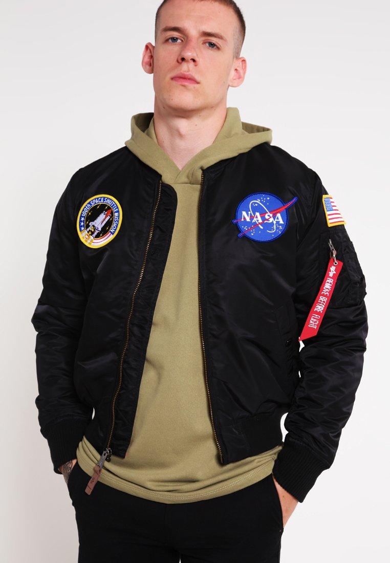 Alpha Industries - NASA - Giubbotto Bomber - black