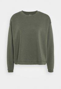 Madewell - SWINGY - Sweatshirt - deep green - 0