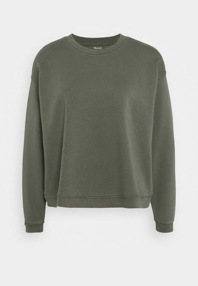 SWINGY - Sweater - deep green