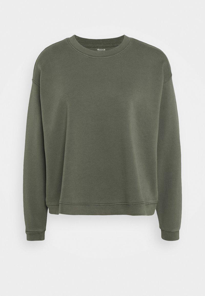 Madewell - SWINGY - Sweatshirt - deep green