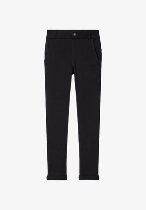 NKMOLSON PANT - Suit trousers - black