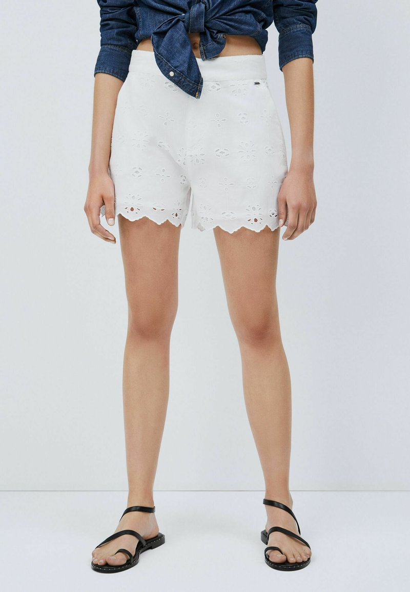Pepe Jeans - NORA - Shorts - blanco off