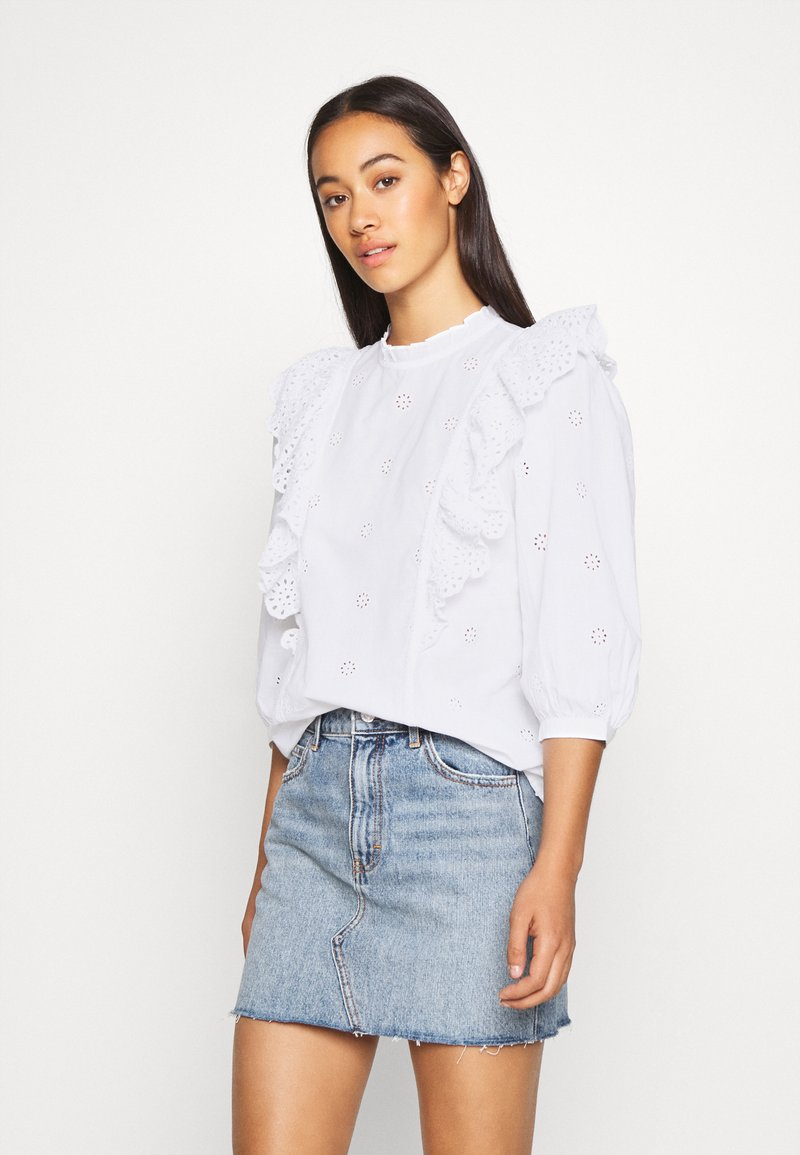 New Look - DOLLY CUTWORK - Bluser - white