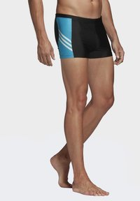 adidas Performance - FITNESS THREE-SECOND SWIM BRIEFS - Swimming trunks - black - 3