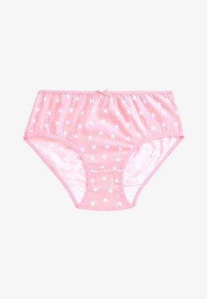 MULTI 7 PACK STAR BRIEFS (1.5-12YRS) - Briefs - pink