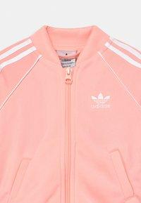 adidas Originals - Training jacket - haze coral/white - 3