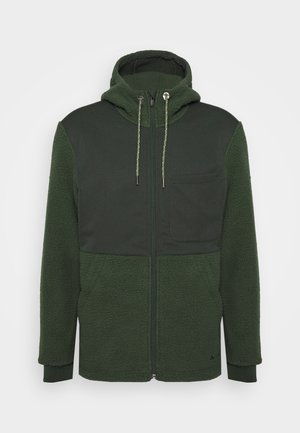 MENS MANUKAU JACKET - Fleece jacket - spinach