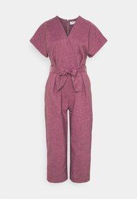Closet - WRAP OVER TIE FRONT  - Jumpsuit - lilac - 0
