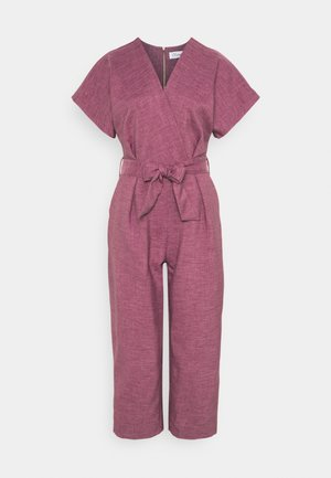 WRAP OVER TIE FRONT  - Jumpsuit - lilac