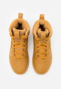 Nike Sportswear - COURT BOROUGH MID 2 - Baskets montantes - wheat/medium brown - 3
