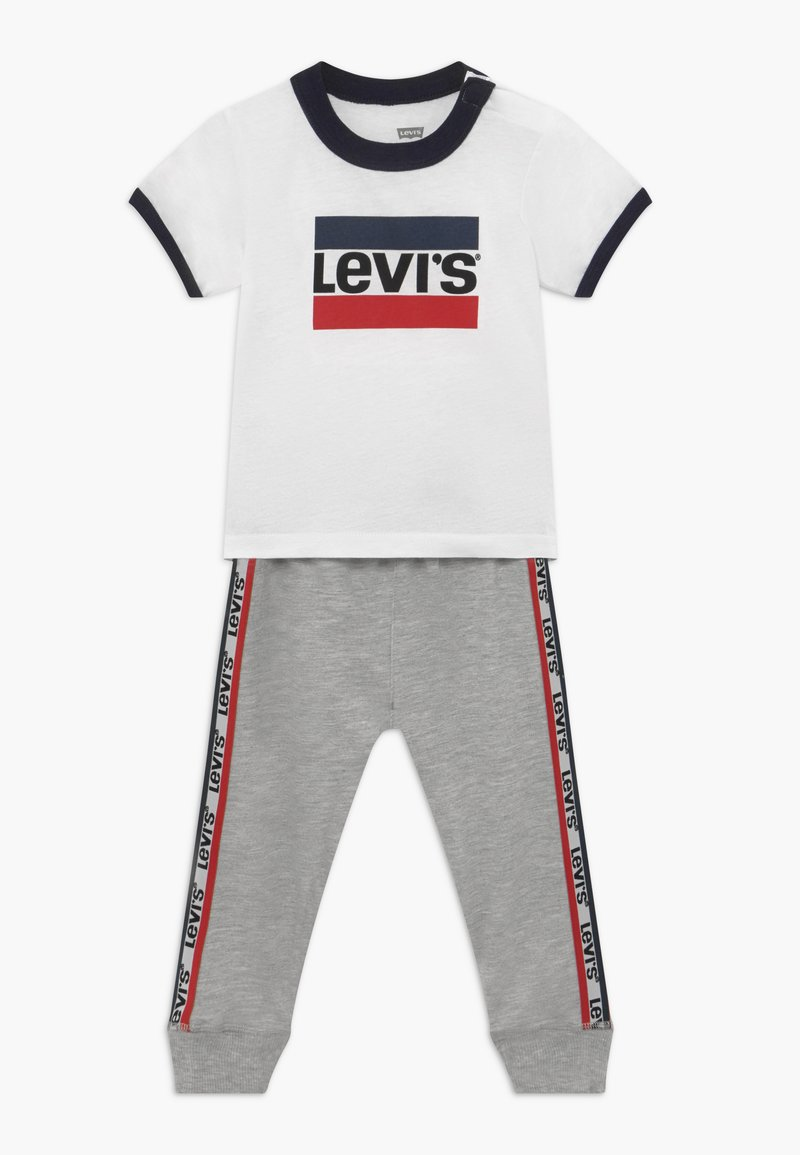 Levi's® - SLOUCHY SET - Tracksuit bottoms - white