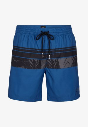 Swimming shorts - blue with black