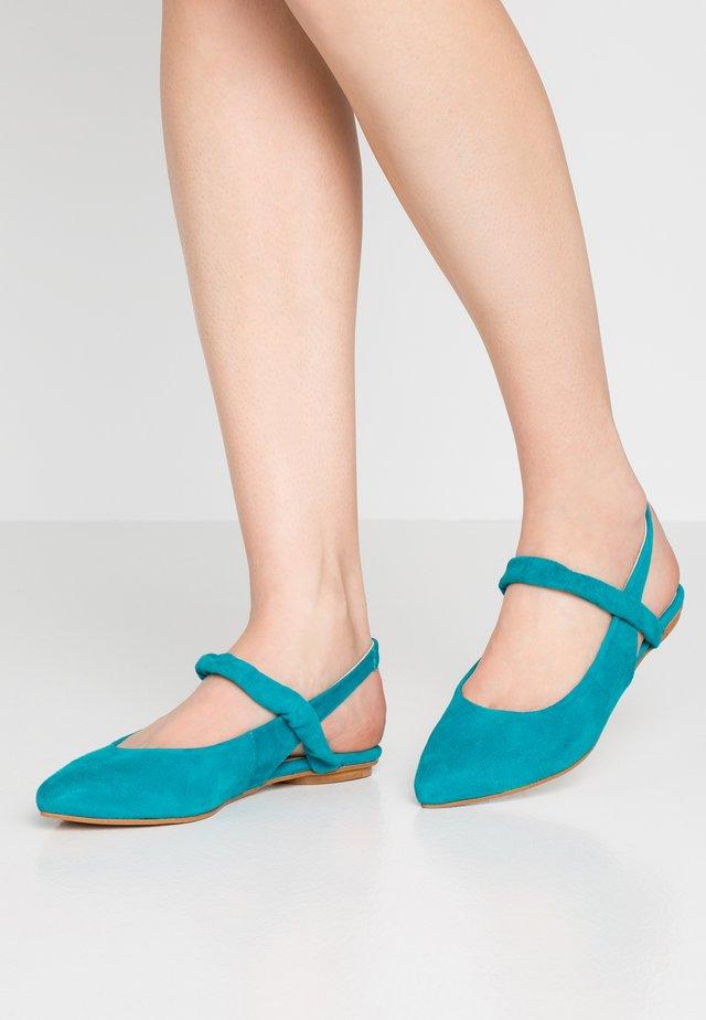 Sling-Ballerina - turquoise