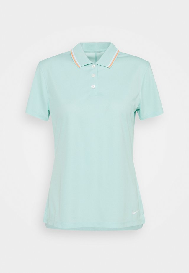 DRY VICTORY - Sports shirt - light dew/bright mango/white
