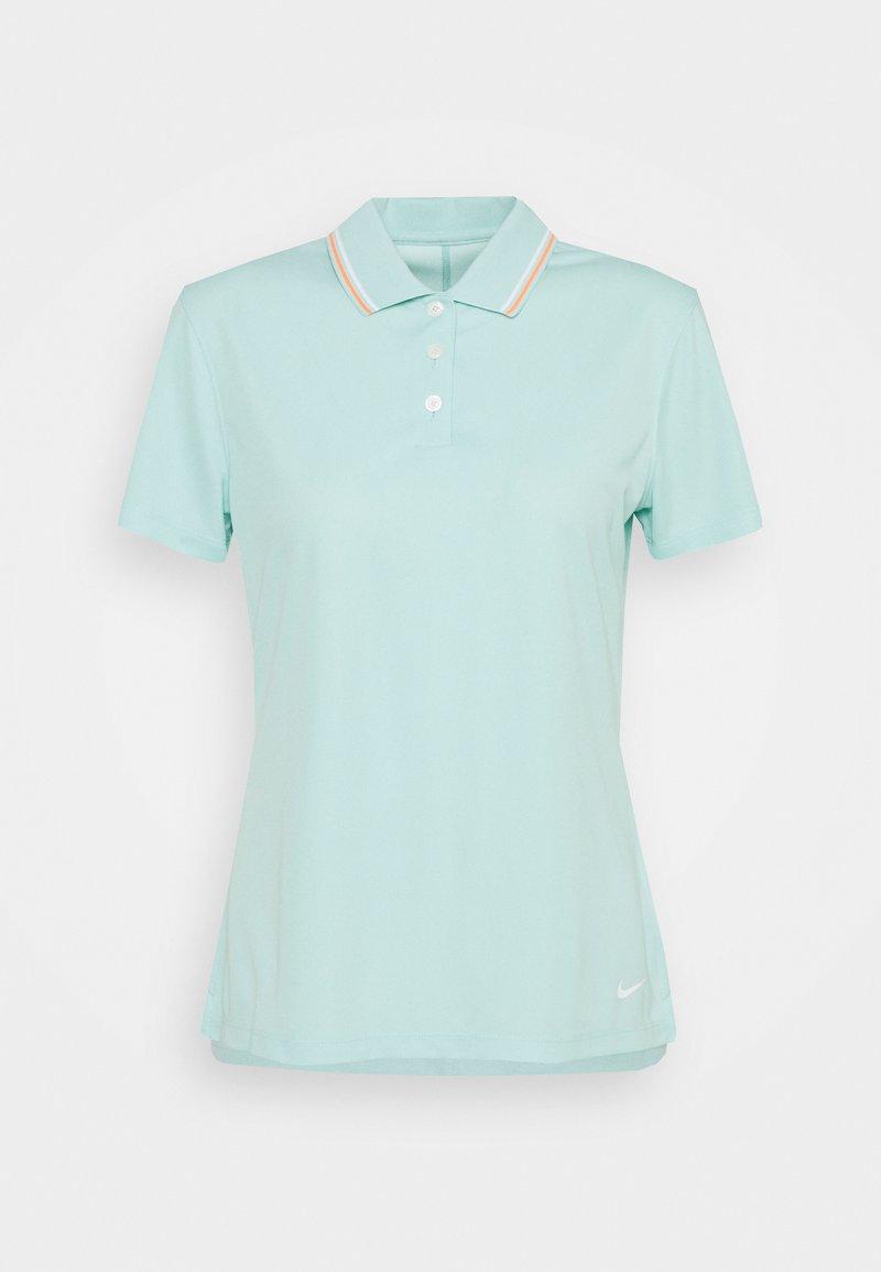 Nike Golf - DRY VICTORY - Sports shirt - light dew/bright mango/white