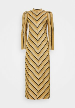 SLFCELINE MIDI DRESS  - Day dress - beige
