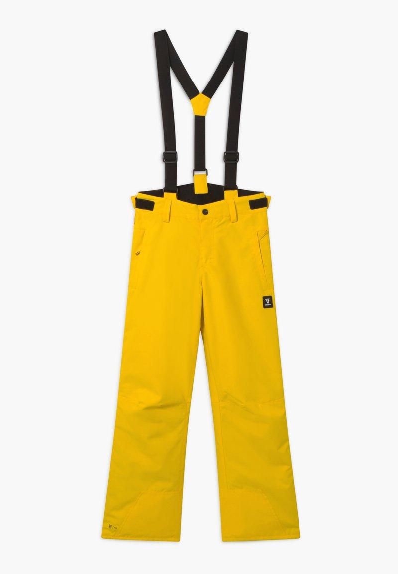 Brunotti - FOOTSTRAP BOYS - Zimní kalhoty - cyber yellow