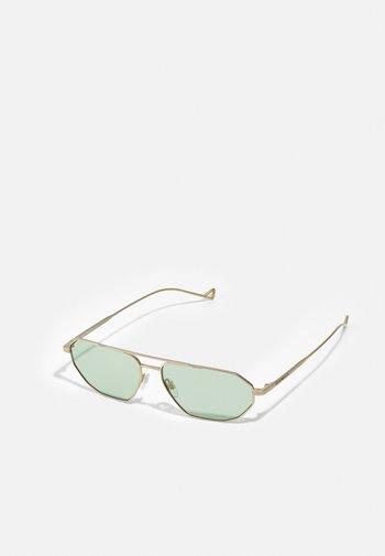 Sunglasses - matte pale/gold-coloured