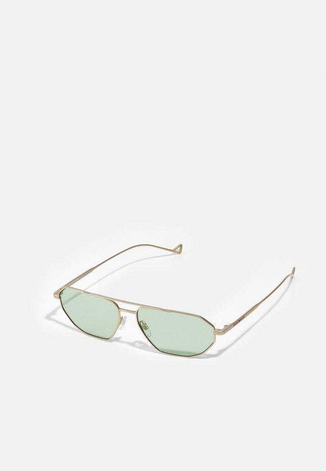 Sluneční brýle - matte pale/gold-coloured