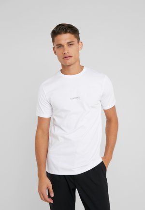 LENS - T-shirt - bas - white/black