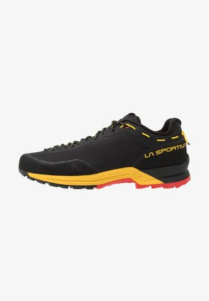 TX GUIDE - Chaussures à scratch - black/yellow