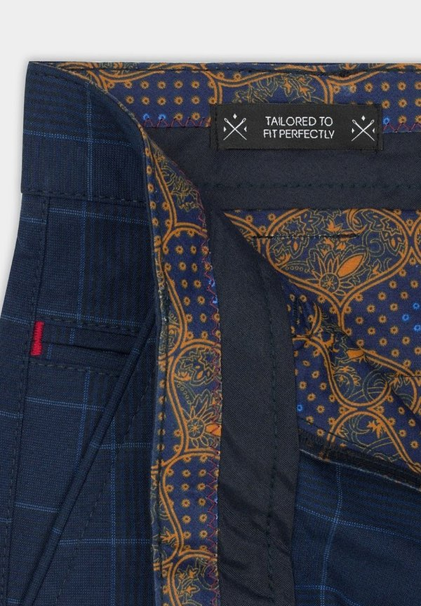Pako Lorente Chinosy - granatowy Odzież Męska MYCW