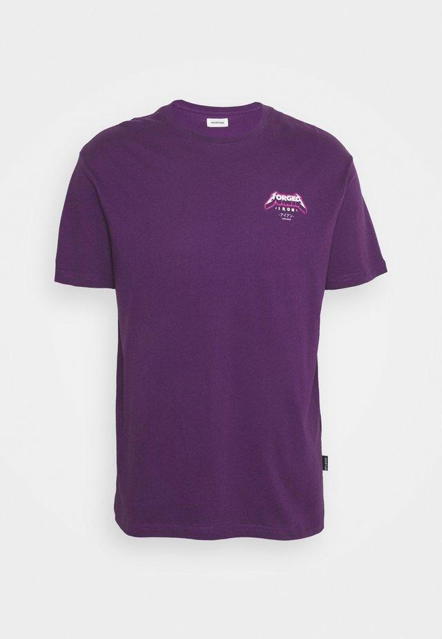 UNISEX - T-shirt med print - lilac