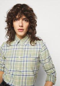 Polo Ralph Lauren - GEORGIA LONG SLEEVE - Button-down blouse - faded green - 3