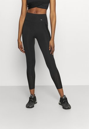 TRAIN FLAWLESS FOREVER HIGH WAIST 7/8 - Leggings - black
