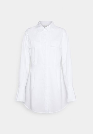 EDGY SHIRT DRESS - Shirt dress - white