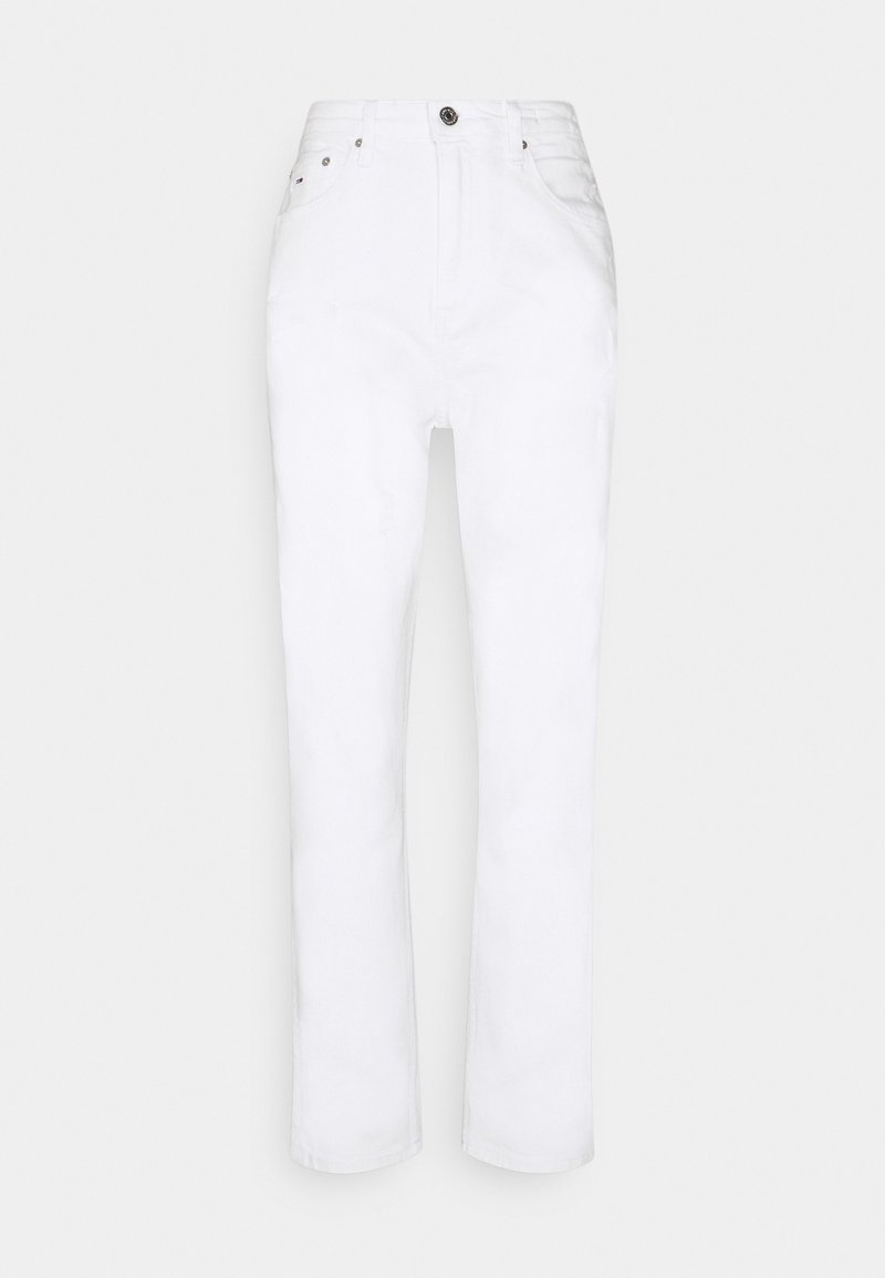Tommy Jeans - MOM ULTRA - Relaxed fit jeans - white denim