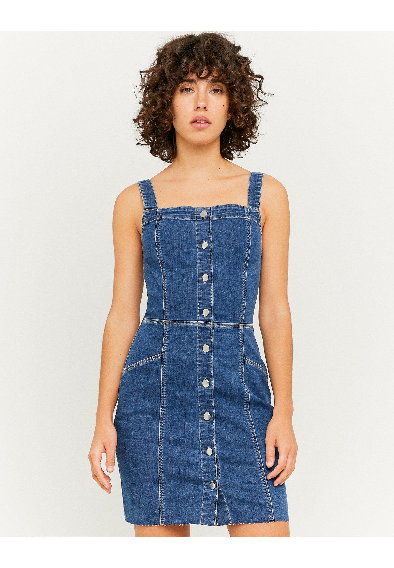 Donna FIGURBETONTES MINI - Vestito di jeans
