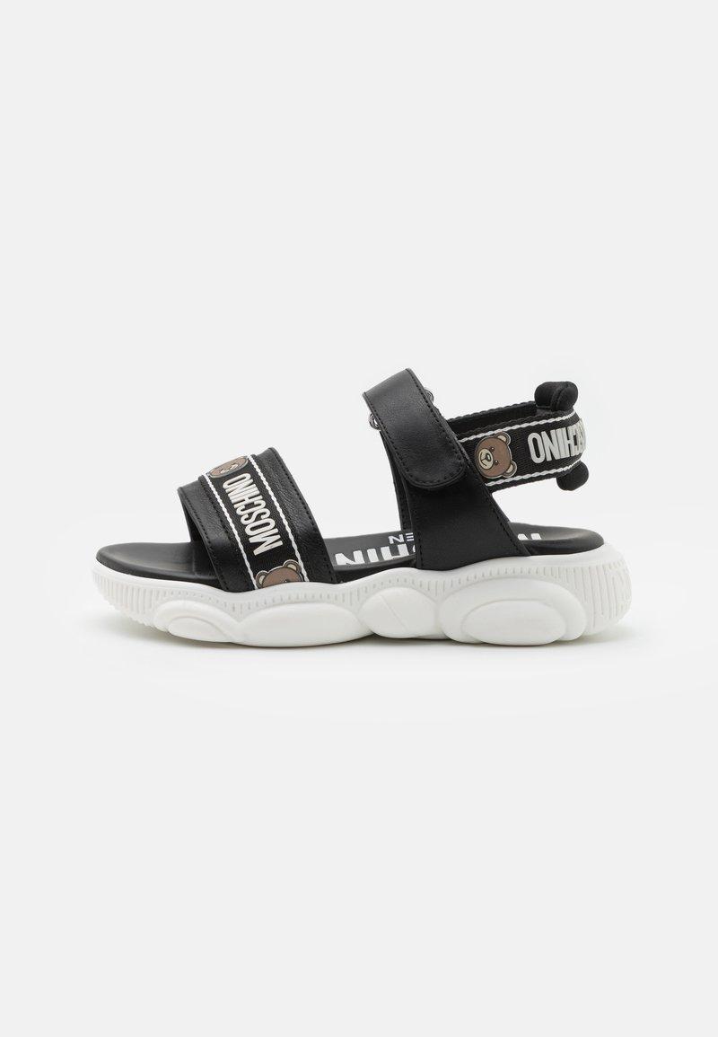 MOSCHINO - UNISEX - Sandals - black
