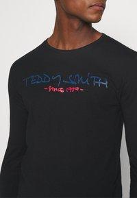Teddy Smith - CLASS BASIC - T-shirt à manches longues - noir - 4