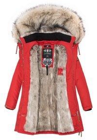 Navahoo - DAYLIGHT - Winter coat - red - 4