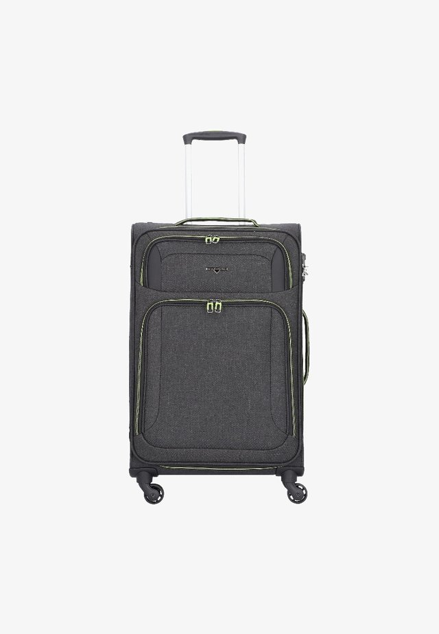 Wheeled suitcase - gray
