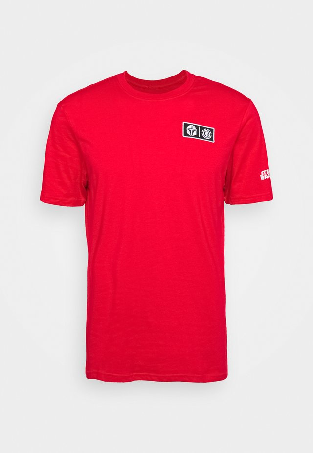 MANDO - T-shirt imprimé - fire red
