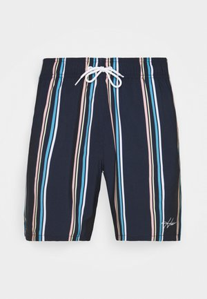 Swimming shorts - navy stripe