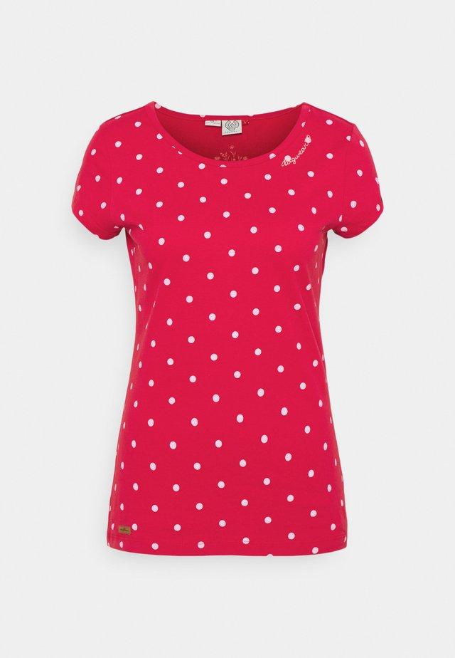 DOTS - T-shirts print - red